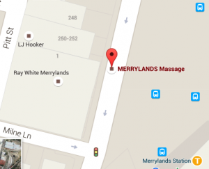 Merrylands Massage Easy Parking Opposite Road